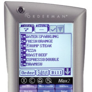 orderman max 2 pantalla perfecta